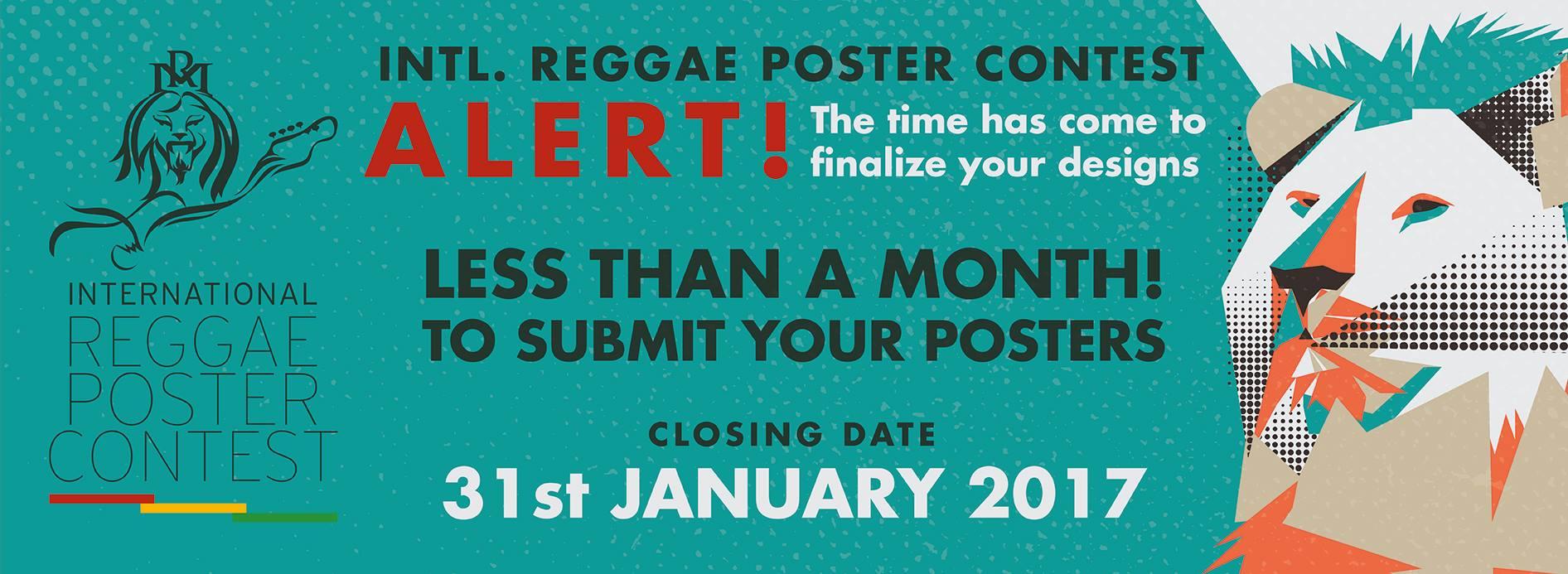 INT. REGGAE POSTER CONTEST | ALERT!