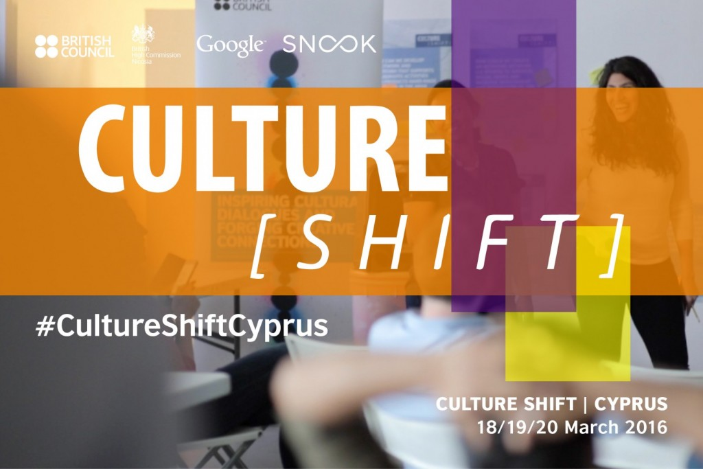 The British Council and the British High Commission in Nicosia, in collaboration with Snook, a Glasgow-based digital innovation agency, and in partnership with Google, are hosting a Culture Shift Hackathon programme on 18th – 20th March, at the Capital Impact in Nicosia.