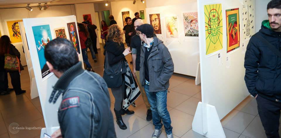 80 αφίσες για τη μουσική Reggae στη Κύπρο. Mιλά στο I love graphic η Μαρία Παπαευσταθίου, μια από τους ιδρυτές του International Reggae Poster Contest