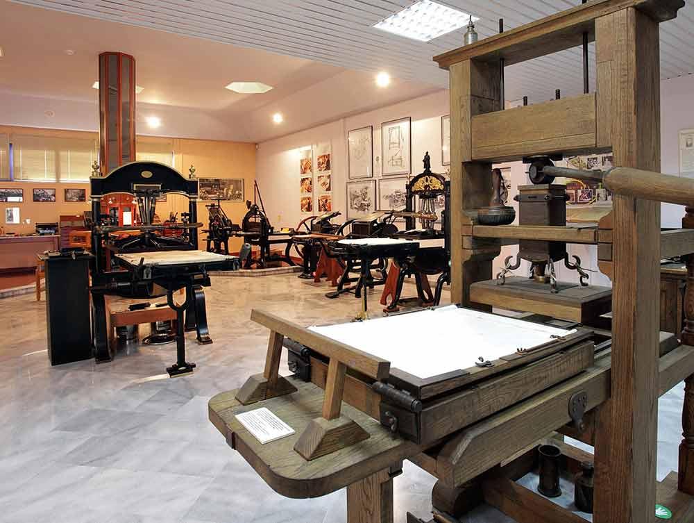 """Στην """"κούρσα"""" των υποψηφιοτήτων για Ευρωπαϊκό Μουσείο της χρονιάς το μοναδικό στην Ελλάδα Μουσείο Τυπογραφίας στα Χανιά."""