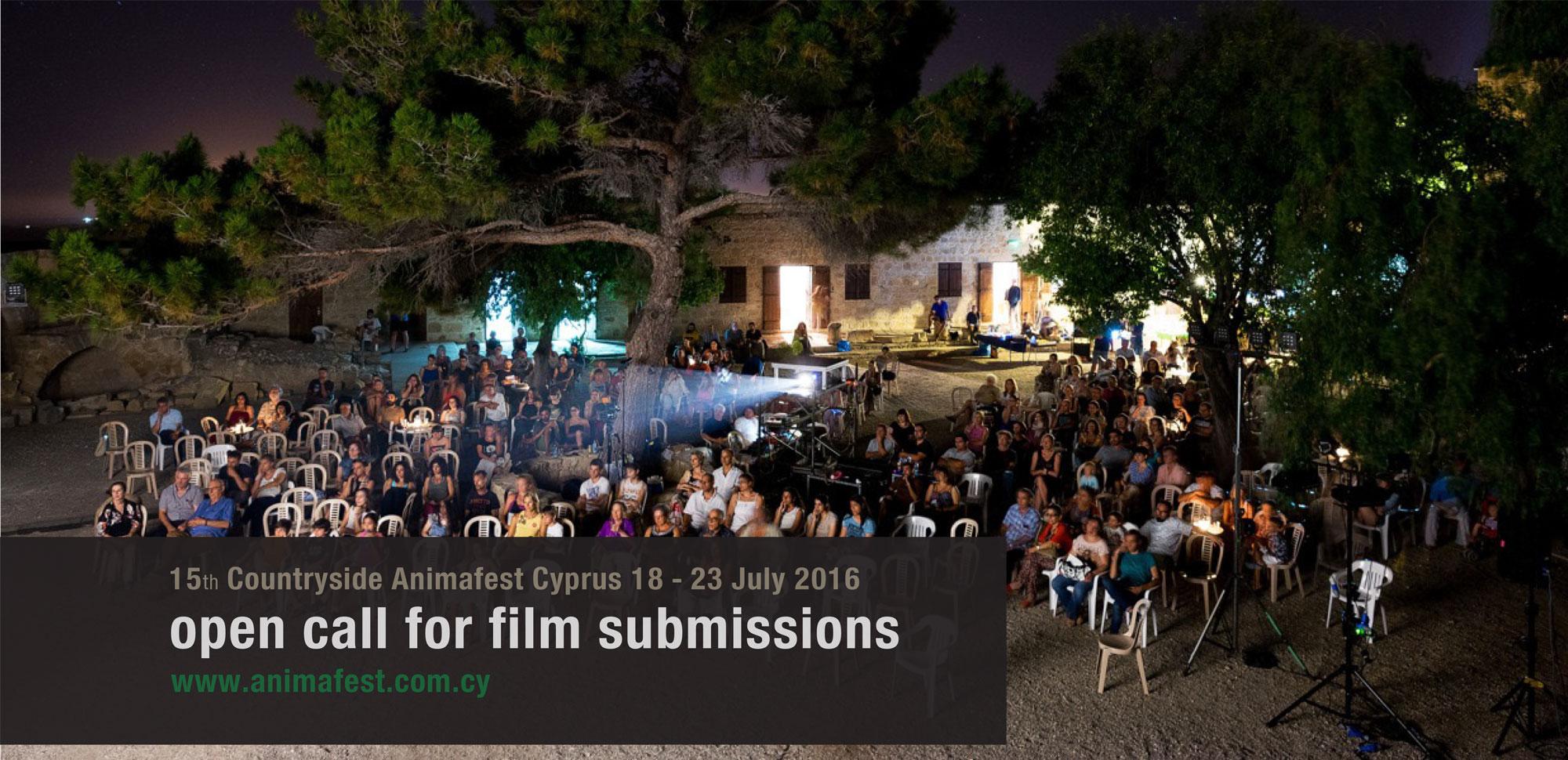 Έναρξη υποβολής αιτήσεων Κυπριακών ταινιών Animation για το 15o Διεθνές Φεστιβάλ του Σινεμά Animation Όψεις του Κόσμου