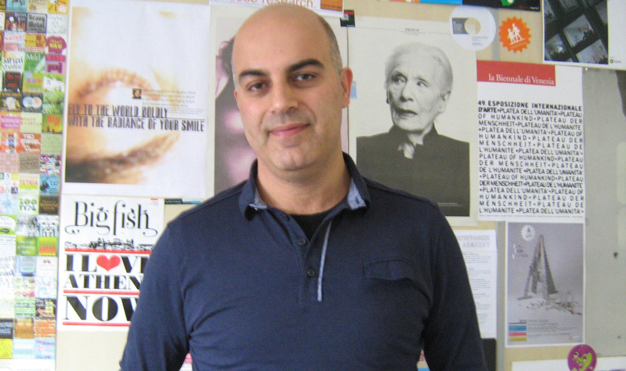 Ευριπίδης Ζαντίδης. Διάδοση της μελέτης και του σχεδιασμού της Οπτικής Επικοινωνία μέσα από τα σημεία.