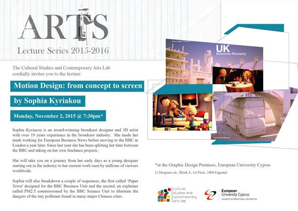 Art Lecture Series | Ευρωπαϊκό Πανεπιστήμιο
